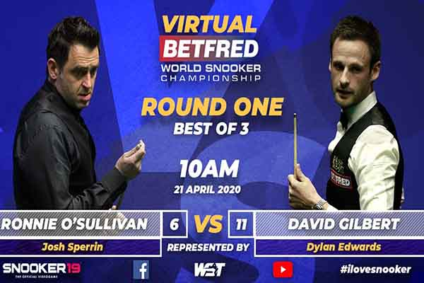 The Virtual Betfred World Championship